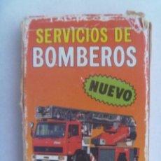 Barajas de cartas: BARAJA CARTAS - JUEGO INFANTIL: SERVICIOS DE BOMBEROS , DE HERACLIO FOURNIER, 1989. Lote 151022562