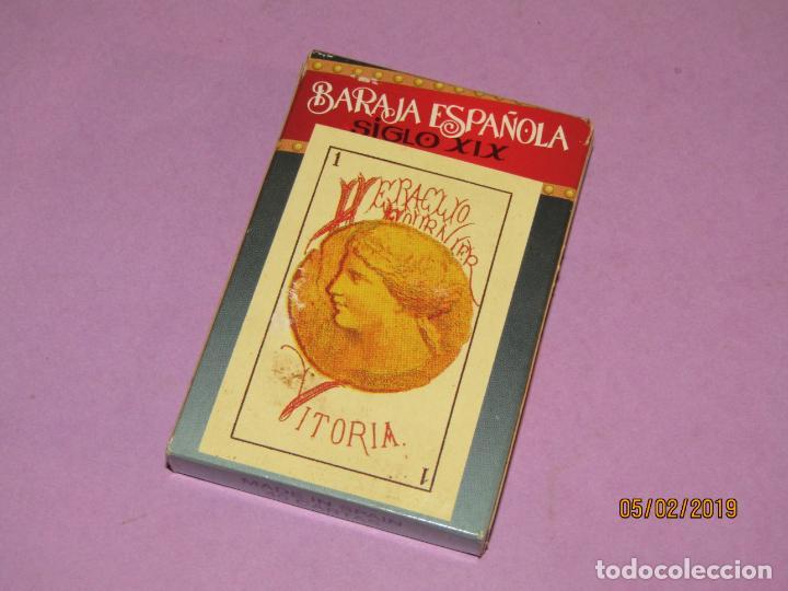 Barajas de cartas: Baraja Española Siglo XIX Reproducción 1868 de Naipes FOURNIER - Sin Precinto pero nueva a Estrenar - Foto 2 - 151166918