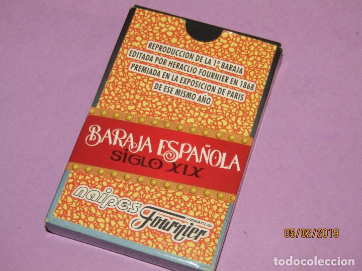 Barajas de cartas: Baraja Española Siglo XIX Reproducción 1868 de Naipes FOURNIER - Sin Precinto pero nueva a Estrenar - Foto 3 - 151166918