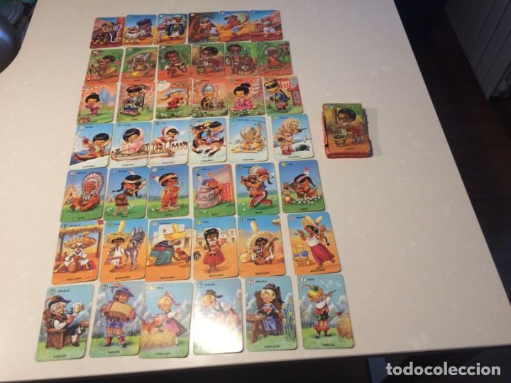 Barajas de cartas: Familias de 7 paises - Dos barajas - Original años 60 y reedicion - Completas - Foto 3 - 151192390