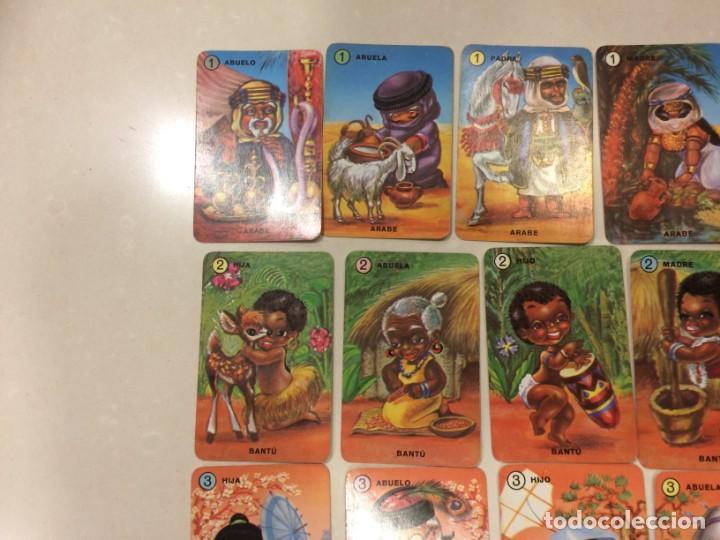 Barajas de cartas: Familias de 7 paises - Dos barajas - Original años 60 y reedicion - Completas - Foto 4 - 151192390