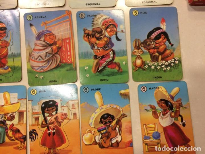 Barajas de cartas: Familias de 7 paises - Dos barajas - Original años 60 y reedicion - Completas - Foto 9 - 151192390