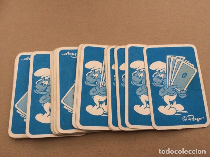 Barajas de cartas: 26 cartas de la baraja de los Pitufos de ERSA - Ediciones recreativas - Foto 2 - 151207318