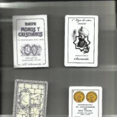 Barajas de cartas: BARAJA NAIPES MOROS Y CRISTIANOS DE ALCOY DIBUJOS ALEJANDRO SOLER REEDICIÓN ESPECIAL AC SAMARITA. Lote 151459062