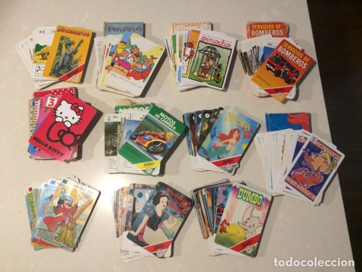LOTE DE 11 BARAJAS INFANTILES INCOMPLETAS (Juguetes y Juegos - Cartas y Naipes - Barajas Infantiles)