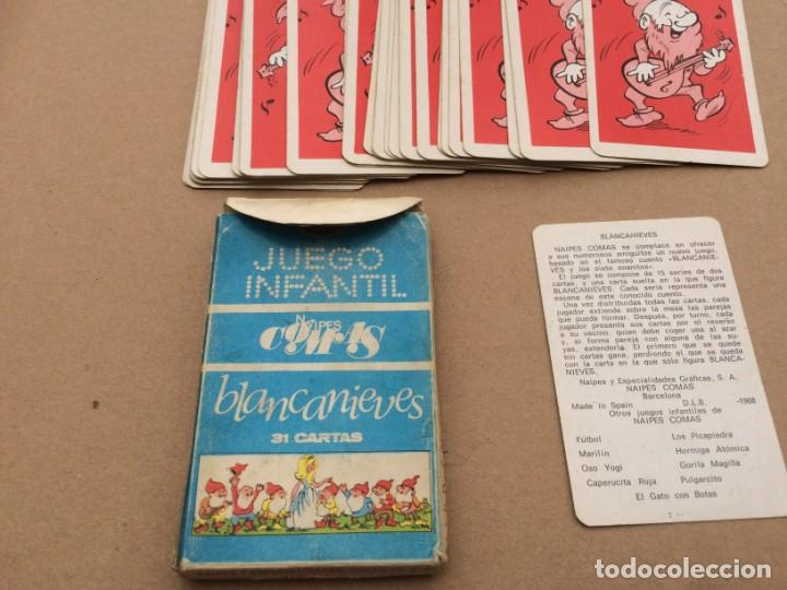 Barajas de cartas: Lote de 11 barajas infantiles incompletas - Foto 7 - 151269490