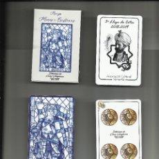 Barajas de cartas: BARAJA NAIPES MOROS Y CRISTIANOS ALCOY / ALCOI DISEÑO CÉSAR VILAPLANA EDICIÓN ESPECIAL AC SAMARITA. Lote 151472585