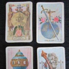 Barajas de cartas: BARAJA COMPLETA FOURNIER. EXPOSICIÓN IBEROAMERICANA BARCELONA-SEVILLA. VITORIA 1929. 40+1 NAIPE.. Lote 151357222