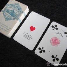 Barajas de cartas: BARAJA COMPLETA FOURNIER. PARA CASINO EN MONTEVIDEO. LOS ESCUDOS. VITORIA 1939. 54 NAIPES POKER. Lote 151357670