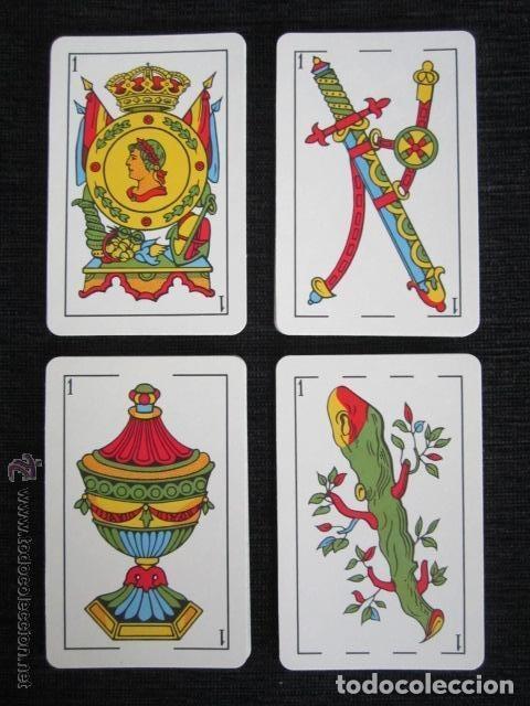 Barajas de cartas: BARAJA COMPLETA FOURNIER. MARCA TITI. VITORIA. 1962. 40 NAIPES. ESTUCHES ORIGINAL. - Foto 3 - 151359670