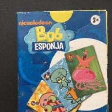 Barajas de cartas: BARAJA DE CARTAS BOB ESPONJA, DE FOURNIER. Lote 151369842