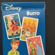 Barajas de cartas: BARAJA DE CARTAS DISBEY BURRO, JUEGO DE PAREJAS. Lote 151370538