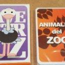 Barajas de cartas: BARAJA INFANTIL / ANIMALES DEL ZOO / COMPLETA Y PRECINTADA EN CAJA ORIGINAL.. Lote 151374714