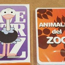 Barajas de cartas: BARAJA INFANTIL / ANIMALES DEL ZOO / COMPLETA Y PRECINTADA EN CAJA ORIGINAL.. Lote 211661111