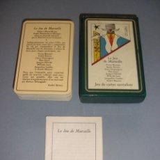 Barajas de cartas: BARAJA SURREALISTA JEU DE MARSEILLE BRETON MAX ERNST OSCAR DOMINGUEZ 1983. Lote 151412142