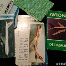 Barajas de cartas: BARAJA AVIONES PASAJEROS. Lote 151425702