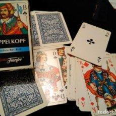 Barajas de cartas: BARAJA HERACLIO FOURNIER DOPPELKOPF. Lote 151431346