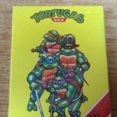 Barajas de cartas: BARAJA TORTUGAS NINJA PRECINTADA - SIN ABRIR- 1991. Lote 151444034
