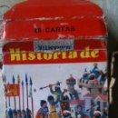 Barajas de cartas: 48 CARTAS HISTORIA DE ESPAÑA. DE FOURNIER. COMPLETA. . Lote 151495746
