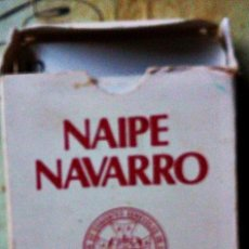 Barajas de cartas: NAIPE NAVARRO. Lote 151496658