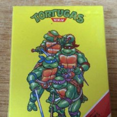 Barajas de cartas: BARAJA TORTUGAS NINJA PRECINTADA - SIN ABRIR- 1991. Lote 151498354