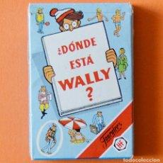 Barajas de cartas: ¿ DONDE ESTA WALLY ? - BARAJA INFANTIL FOURNIER - 1990 - COMO NUEVA. Lote 151624602