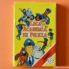 Barajas de cartas: LOCA ACADEMIA DE POLICIA - BARAJA INFANTIL FOURNIER - 1990 - CASI NUEVA - VER FOTOS. Lote 215537301