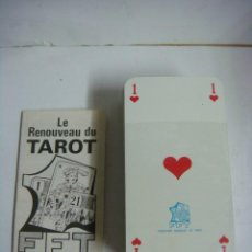 Barajas de cartas - BARAJA DE TAROT LE RENOUVEAU DU TAROT PUBLICIDAD AL DORSO JOFABEX ES FRANCESA - 151655226