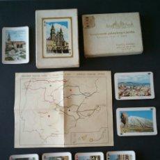 Barajas de cartas: BARAJA TURISTICA HERACLIO FOURNIER AÑO 1966 - SOUVENIR PLAYING CARDS - POKER - CAJA - INSTRUCCIONES. Lote 151711124