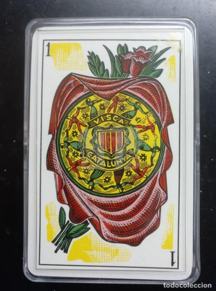 BARAJA NAIPES, ESPAÑOLA - VISCA CATALUNYA - MOLNE - HERACLIO FOURNIER - NUEVA PERO DESPRECINTADA (Juguetes y Juegos - Cartas y Naipes - Baraja Española)