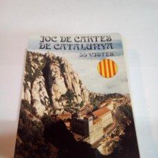 Barajas de cartas: JUEGO DE CARTAS DE CATALUÑA 55 VISTAS. Lote 151850178