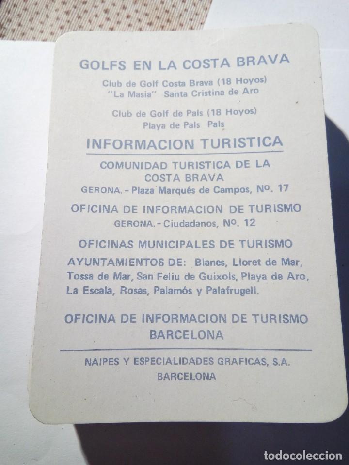 JUEGO DE GOLF EN LA COSTA BRAVA (Juguetes y Juegos - Cartas y Naipes - Barajas de Póker)