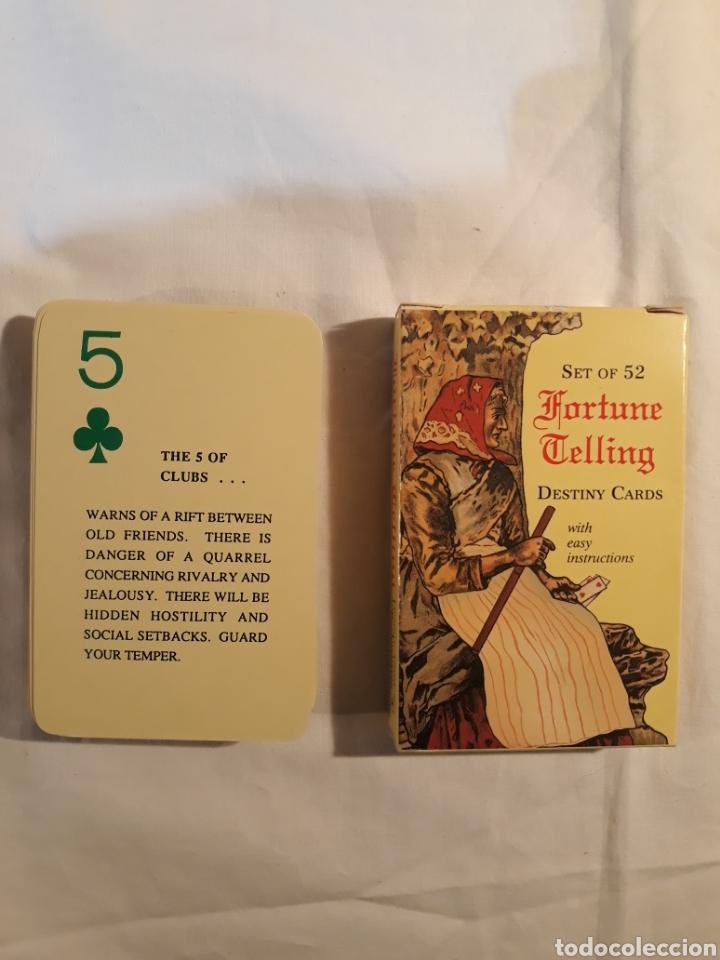 FORTUNE TELLING DESTINY CARDS.COMPLETO 1991. (Juguetes y Juegos - Cartas y Naipes - Barajas Tarot)