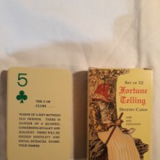 Barajas de cartas: FORTUNE TELLING DESTINY CARDS.COMPLETO 1991.. Lote 151853470