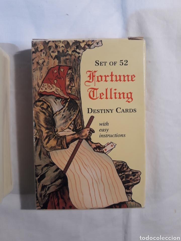 Barajas de cartas: Fortune telling destiny cards.completo 1991. - Foto 2 - 151853470