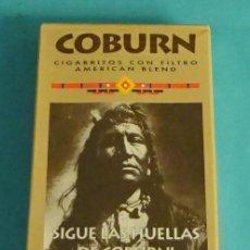 Barajas de cartas: BARAJA DE CARTAS DE PÓKER. PUBLICIDAD CIGARRILLOS COBURN. SIN ABRIR PRECINTO. Lote 151860382