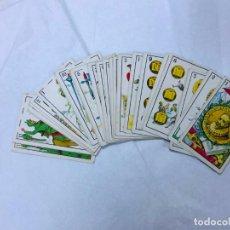 Barajas de cartas: BARAJA ANTIGUA, MIGUEL DE CERVANTES, DON QUIJOTE DE LA MANCHA, 1915, PUBLICIDAD MAGATZEMS JORBA 48N . Lote 151886454