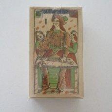 Barajas de cartas: TAROT FLORENTINO MINCHIATE AL LEONE ITALIA SIGLO XVIII - 1790 FASCIMIL, BARAJA PRECINTADA. Lote 161706564