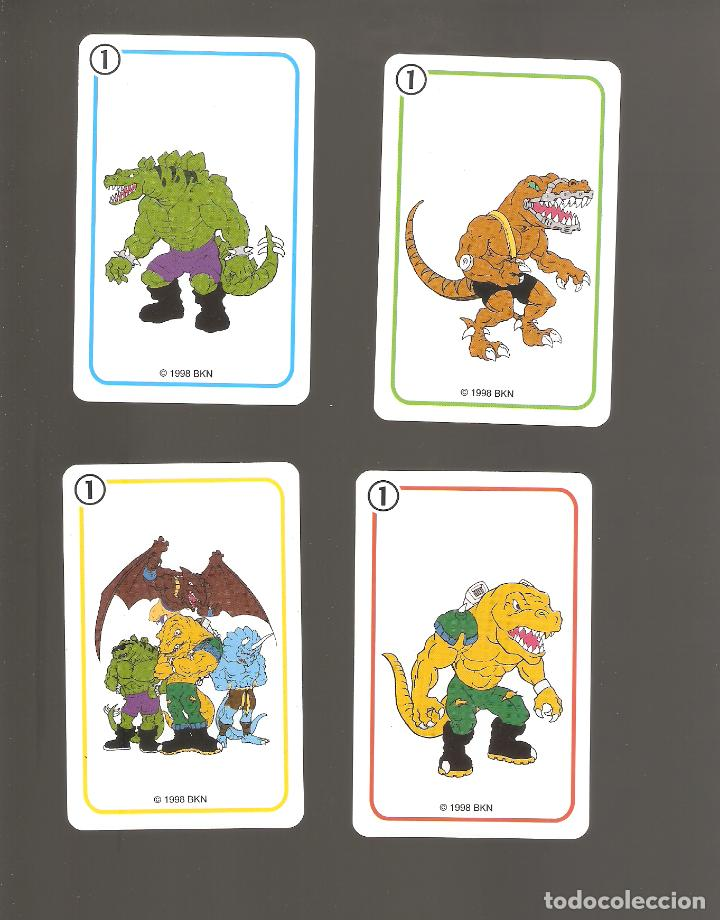 Barajas de cartas: 1 baraja de naipe extreme dinosaurios completa fournier - Foto 3 - 151943314