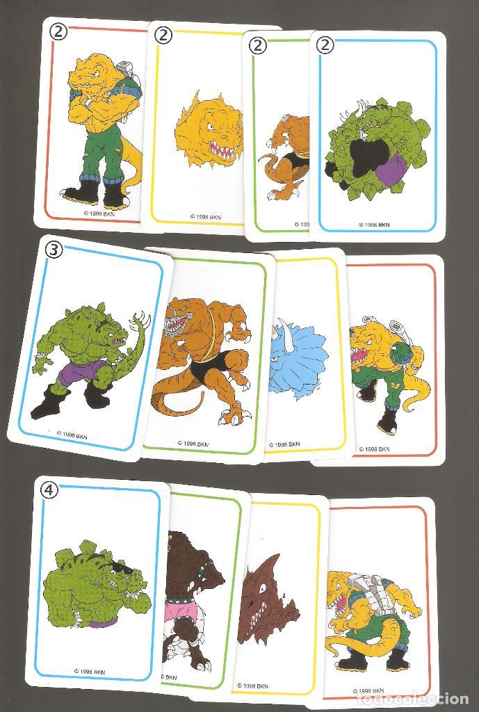 Barajas de cartas: 1 baraja de naipe extreme dinosaurios completa fournier - Foto 4 - 151943314