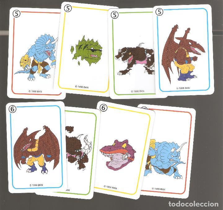 Barajas de cartas: 1 baraja de naipe extreme dinosaurios completa fournier - Foto 5 - 151943314