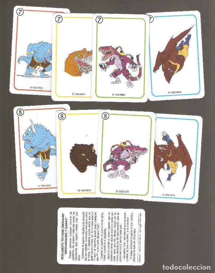 Barajas de cartas: 1 baraja de naipe extreme dinosaurios completa fournier - Foto 6 - 151943314