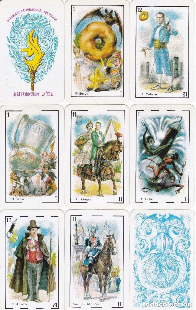 BARAJA FALLERA DE VALENCIA OLIMPIADA DEL HUMOR CON 50 CARTAS (NUEVA SIN CAJA) (Juguetes y Juegos - Cartas y Naipes - Baraja Española)