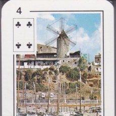 Barajas de cartas: BARAJA DE MALLORCA DE POKER NAIPES COMAS NUEVA Y PRECINTADA . Lote 151965542
