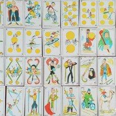 Barajas de cartas: JUEGO DE 48 CARTAS. DEPORTES. REVERSO DE CINE MANUAL, GATO FELIX. CIRCA 1930. . Lote 151966118