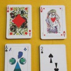 Barajas de cartas: JUEGO DE CARTAS DE POKER ´LE JEU DES PEINTRES. 54 CARTAS. FALTO DEL AS DE PICAS.. Lote 152002314