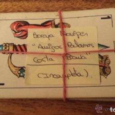 Barajas de cartas: BARAJA DE CARTAS EN EL REVERSO AMIGOS DE PALAMOS COSTA BRAVA ESPAÑA. Lote 152005522