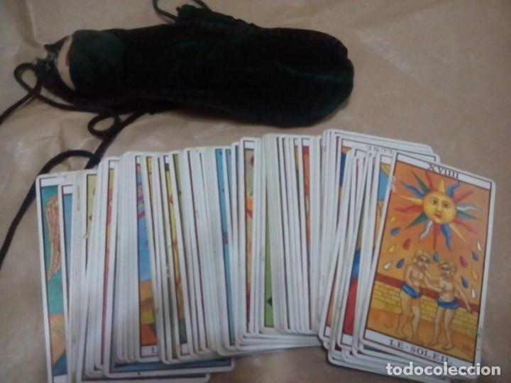 TAROT MARSELLA CARTAS FOURNIER BOLSA DE REGALO COMPLETO 78 CARTAS (Juguetes y Juegos - Cartas y Naipes - Barajas Tarot)
