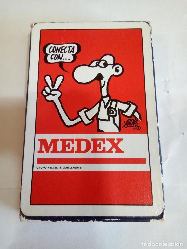 Barajas de cartas: BARAJA FOURNIER DE PUBLICIDAD MEDEX - Foto 2 - 152270314