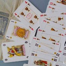 Barajas de cartas: JUEGO COMPLETO BARAJA DE CARTAS 1955 NAIPES HIJA DE FOURNIER BURGOS POKER ESPAÑOL NUEVA PERFECTA. Lote 152271518